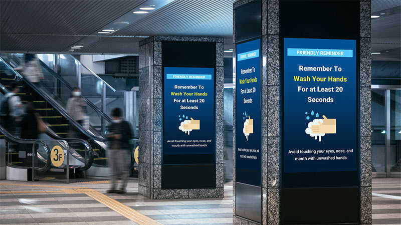 5 Benefits to Use Interactive Digital Signage During Pandemic