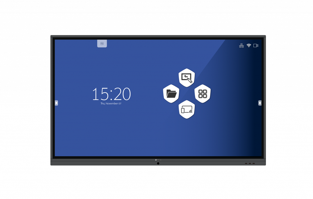 AG Neovo's Meetboard interactive flat panel display home screen launcher
