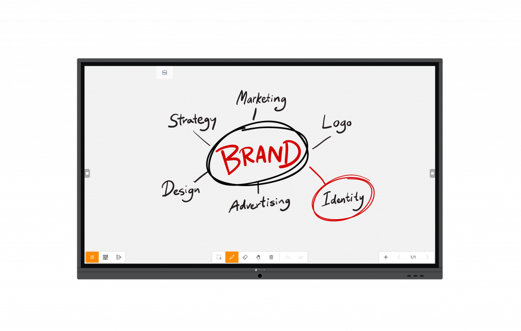 AG Neovo Meetboard's whiteboard app can do instant annotations