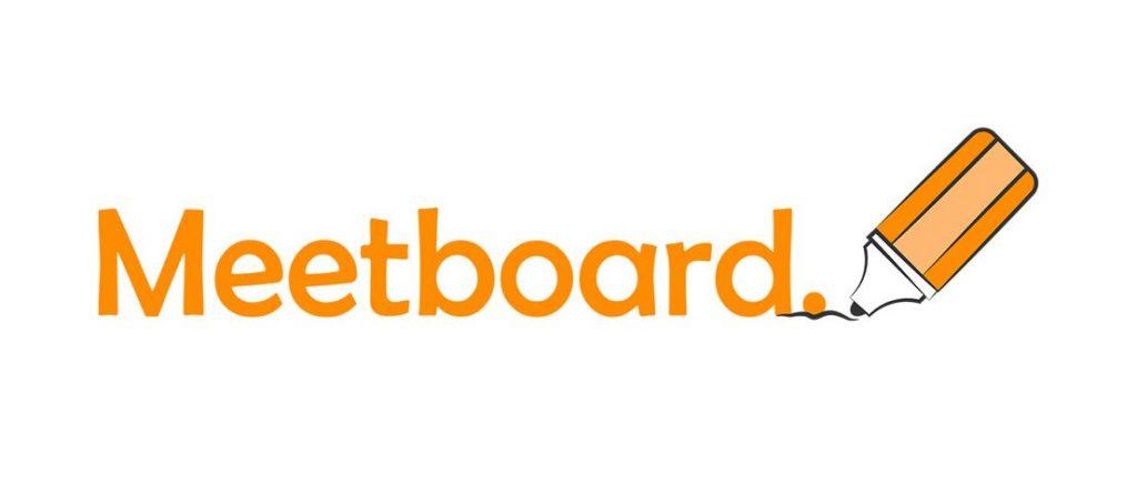 Meetboard interactive display logo