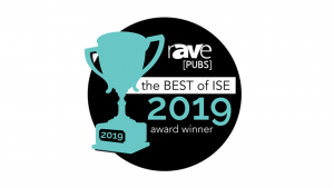 Neovo Signage best digital signage software awarded by rAVe in 2019