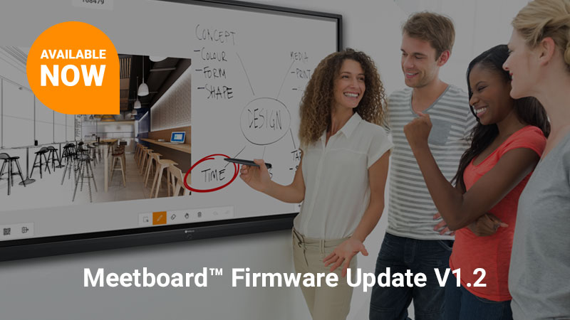 Meetboard™ IFP-Series Over-the-air (OTA) V1.2 Available Now