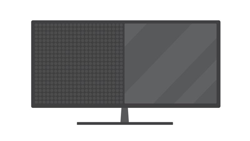 LED vs. LCD screens